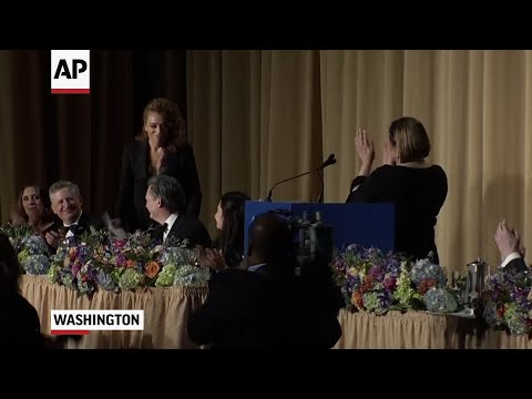 Sarah Huckabee Sanders Roasted At WH Dinner