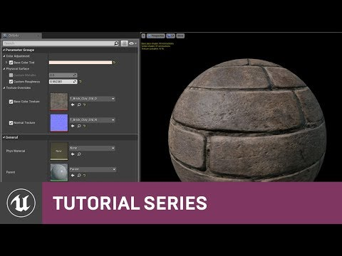 Intro to Materials: Material Instancing | 08 | v4.0 Tutorial Series | Unreal Engine