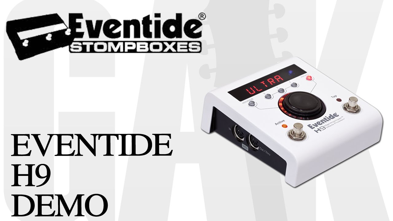 eventide h9 eventide h9 demo review youtube. Black Bedroom Furniture Sets. Home Design Ideas