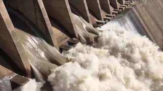 Vaal Dam test release