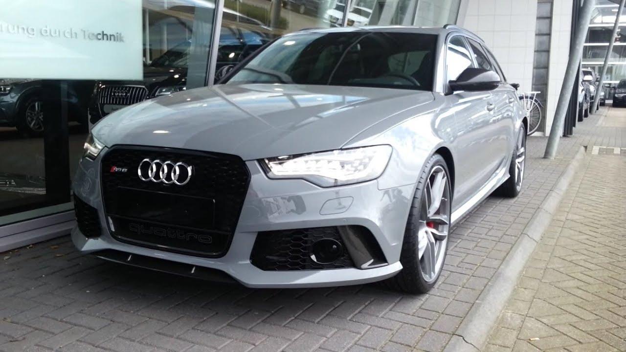 Audi Rs6 2015 Start Up In Depth Review Interior Exterior