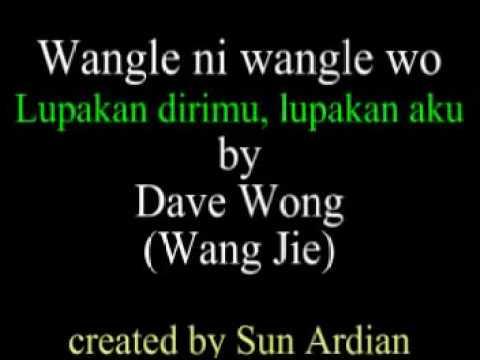 Wang le ni wang le wo 忘了你忘了我 Dave Wong Wang Jie 王杰