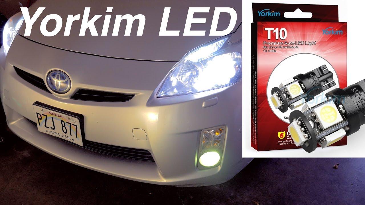 Yorkim194 Led Light Bulbs Prius Install