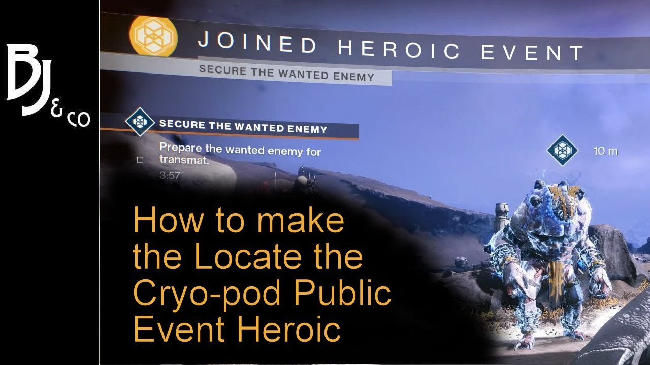 How To Heroic The Tangled Shore Public Event Locate The Cryo Pod