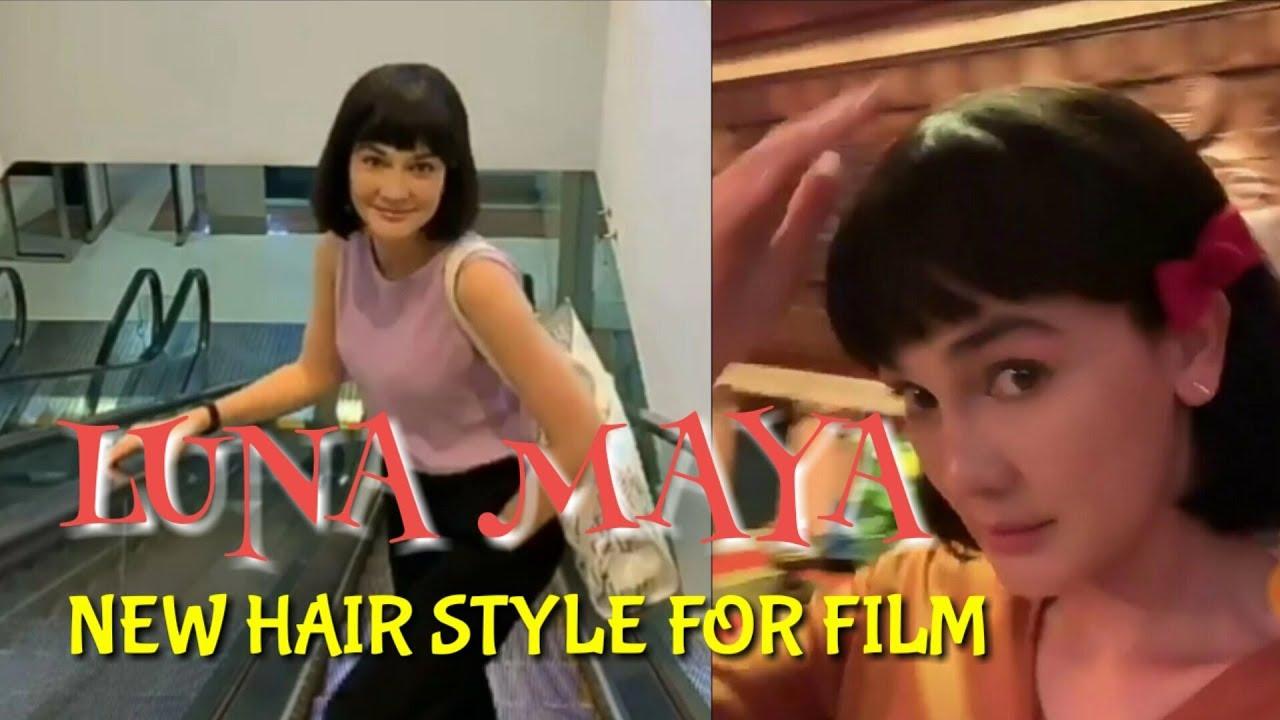 Beautiful LUNA MAYA New Hair Style For New Film