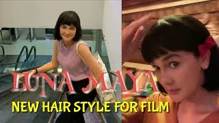 Download Video Beautiful LUNA MAYA New Hair Style For New Film MP3 3GP MP4