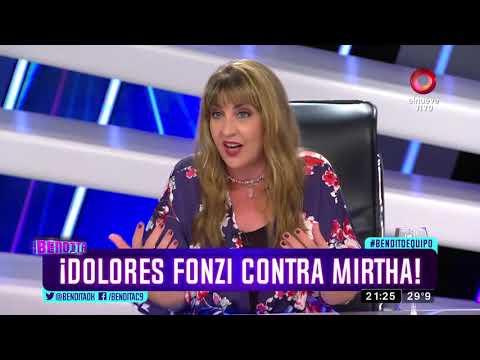 ¡Dolores Fonzi contra Mirtha!