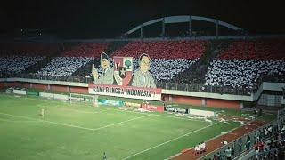 COREO 3D BCS   KAMI BANGSA INDONESIA !!! ( PSS Sleman vs PERSIJAP )
