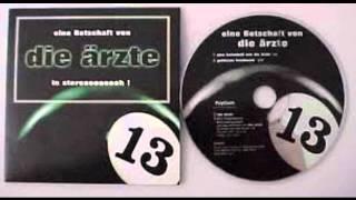 Die Ärzte - Eine Botschaft Von Die Ärzte in Stereo 1998 (Single)