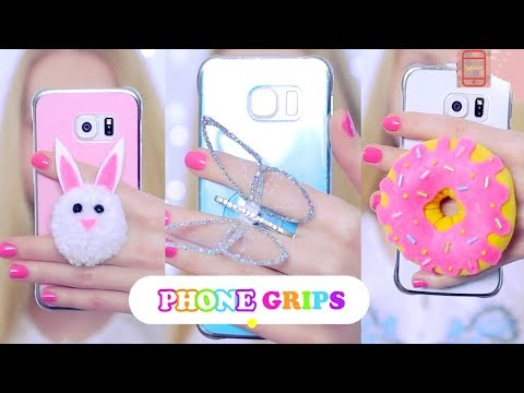 DIY Mobile Grips Holder-How to Make Mobile Cover Grips at Home| Mobile Expert