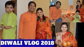 Diwali 2018 Vlog | Indian Mommy Vlogger In USA | Real Homemaking
