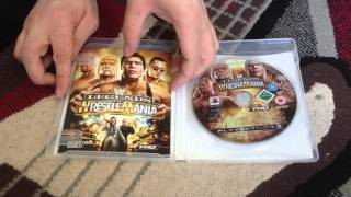 Nostalgamer Unboxes WWE Legends Of Wrestle Mania On Playstation 3