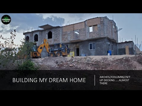 JAMAICA//Building My Dream Home | Arches Reveal. Building On A Budget