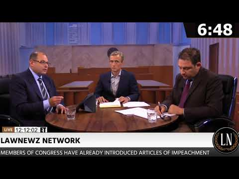 Dan Abrams Hosts Live Trump Impeachment Debate on LawNewz Network