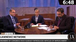Dan Abrams Hosts Live Trump Impeachment Debate on LawNewz Network
