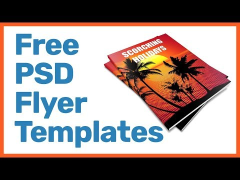 Free PSD Flyer Templates Download -  Best Websites For Psd Templates