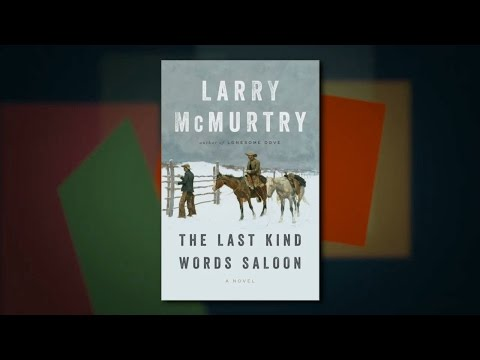 Larry McMurtry with Diana Ossana on The Last Kind Words Saloon at Miami Book Fair