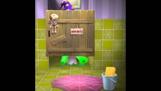 [My Talking Tom] I'm Too Scared To Potty OR Eat‼️🙀👻‼️🙀👻‼️🙀👻‼️