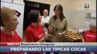 Disfraces y cocas de San Blas y Santa Águeda Mequinenza