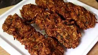 চিংড়ি মাছ দিয়ে কচুর  বড়া রেসিপি /Kochur mochmoche Bora Recipe.