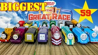 NEW THE BIGGEST THOMAS AND FRIENDS THE GREAT RACE #59 TrackMaster Thomas The Tank Engine Toy Trains