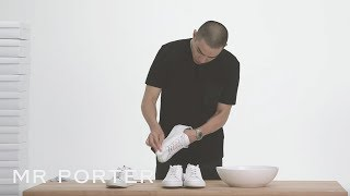How To Keep Your Sneakers Clean | MR PORTER