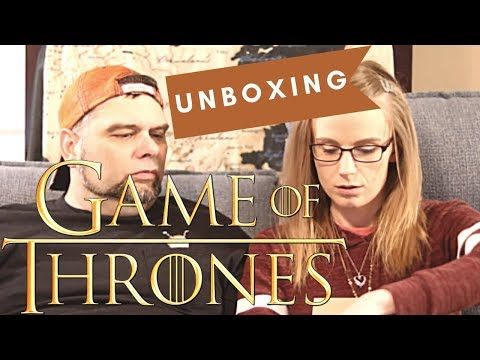 Game Of Thrones Unboxing!!!