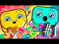 Candy Monster or The Scary Cartoon About Sweets! ❒ The TinyBlocks Toddler Series 2017 | Episode # 1