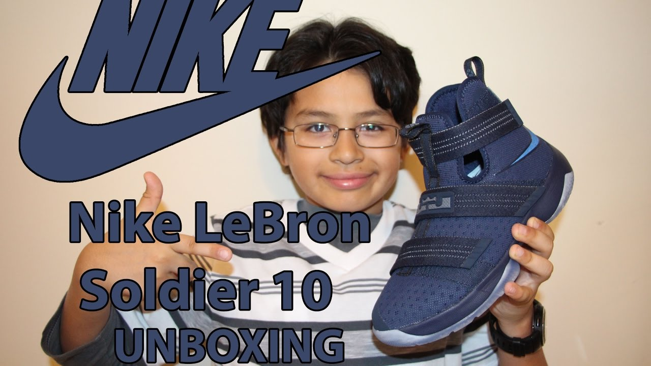 3126065970ac ... czech unboxing of nike zoom lebron soldier 10 midnight navy game royal  midnight navy 7d48f 14155