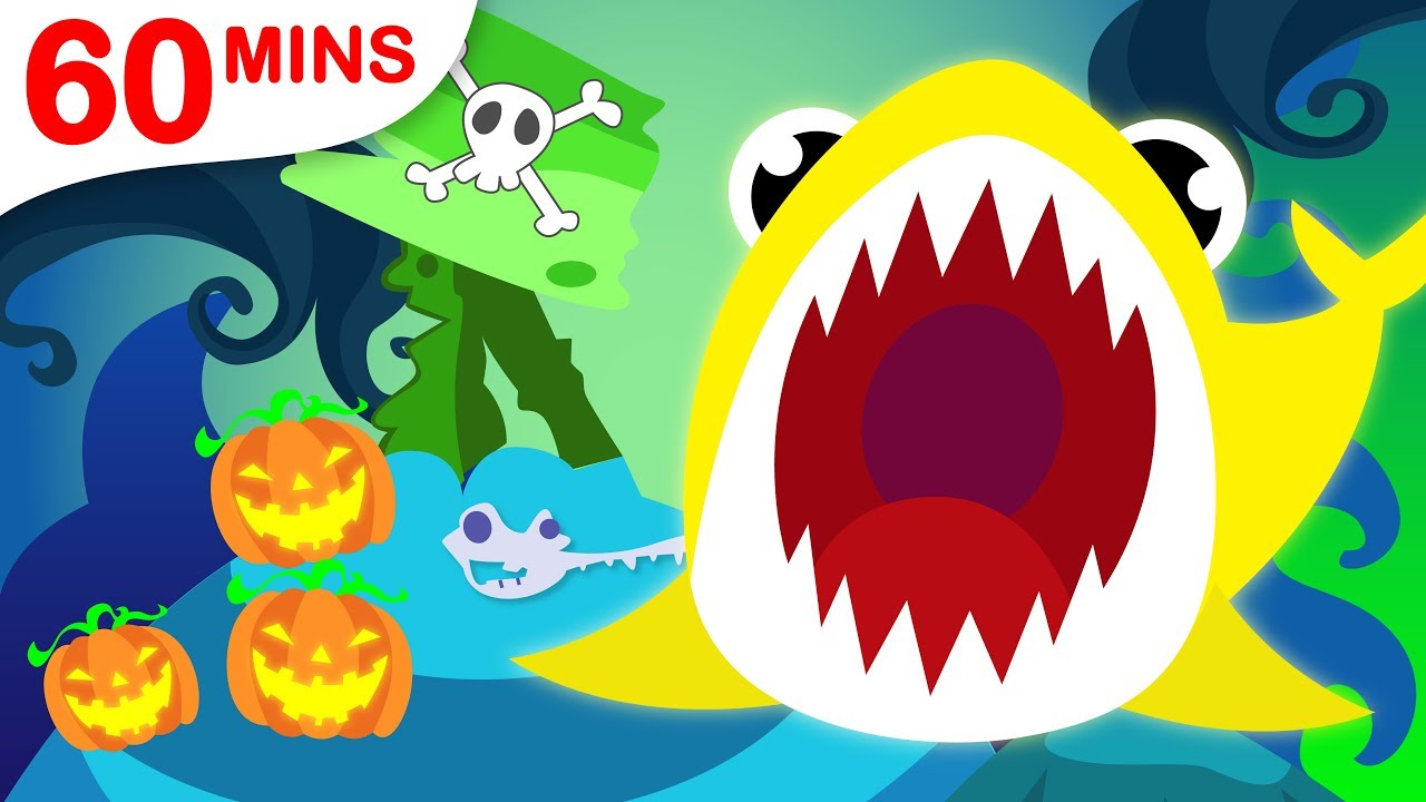 Baby Shark Family Compilation! Origami, Crab & Colours by Little Angel: Nursery Rhymes & Kid