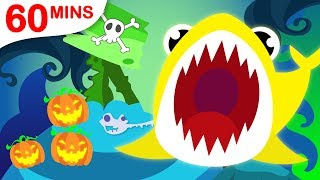 Baby Shark Family Compilation! Origami, Crab & Colours by Little Angel: Nursery Rhymes & Kids Music