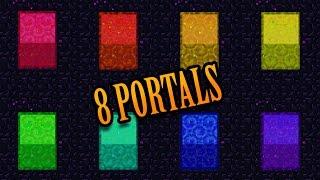 Minecraft: THE 8 PORTALS