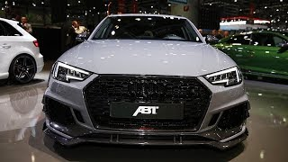 New 2018 Audi RS4-R - ABT - First Look & Review