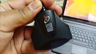 UAE EMIRATES ID CARD READER INSTALLATION