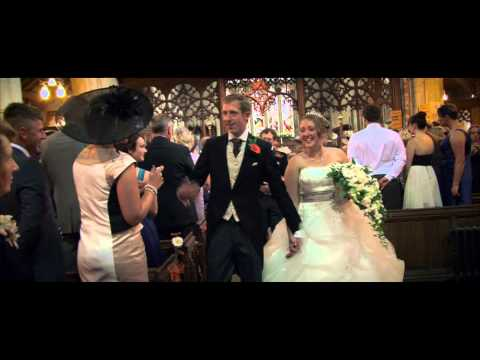 Wedding video dream sequence, at Welshpool Powys Mid Wales.