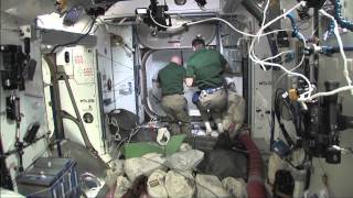 Discovery 133 - Flight Day 11 - Shuttle Crew Leaves Station