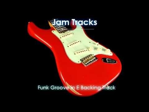 Funk Groove in E Backing Track