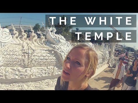 EXPLORING THE GORGEOUS SPARKLING WHITE TEMPLE    CHIANG RAI   Ep 16