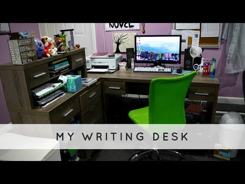 Tour of My Writing Desk/Room