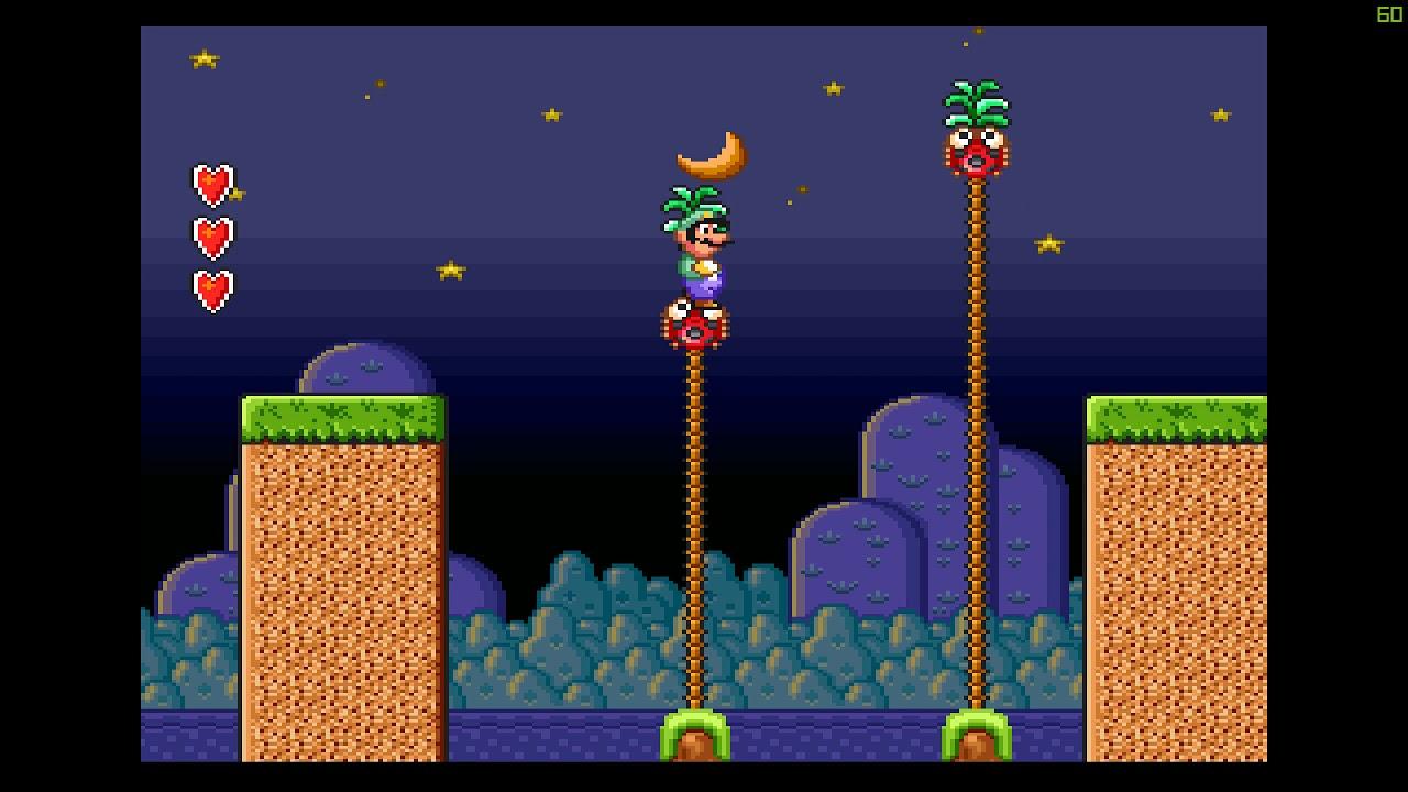 Let's Play Super Mario Bros 2 SNES Part 5 World 5-3