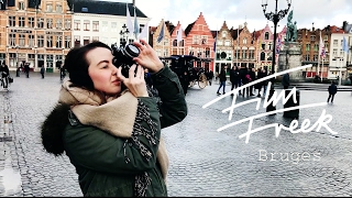 BRUGES | VLOG | CineStill 800 | LomoChrome Turquoise | Double Exposures | Nikon Fm2