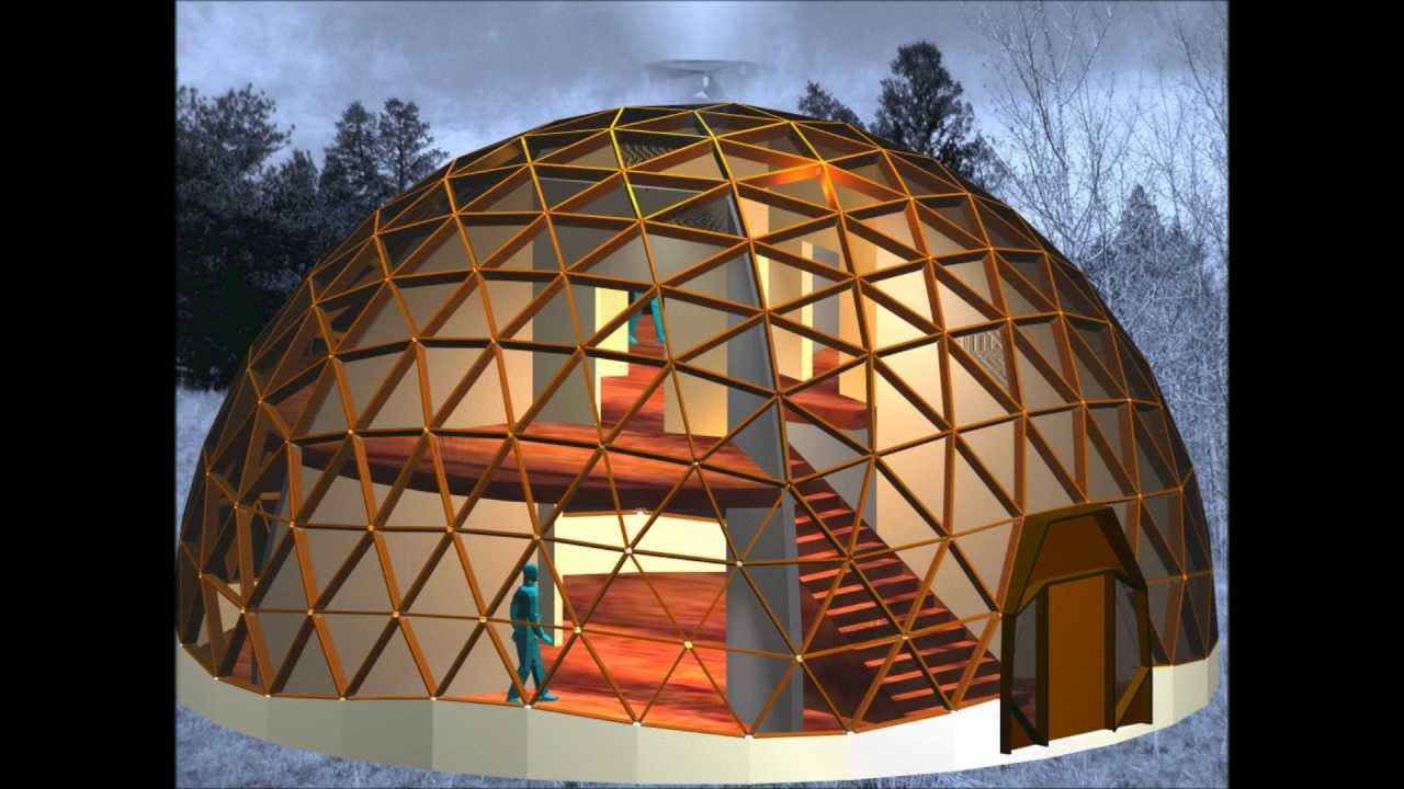 A Class I 6 Frequency Geodesic Dome Structure Constructed
