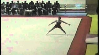 Floor Exercises - Denis Ablyazin (Voronin Cup 2012)