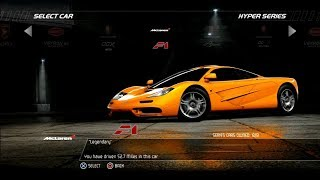 Need For Speed Hot Pursuit: McLaren F1 (Test Drive)