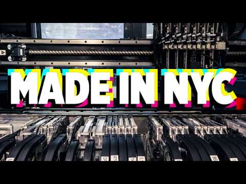 Made in NYC 2/12/2020 Featuring #Adafruit PyBadge Testers