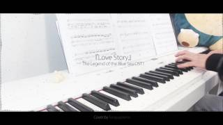 The Legend of the Blue Sea OST 1 - Love Story by Lyn - piano cover w/ sheet music