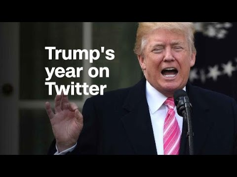 How Twitter defined the first year of Trump's presid...