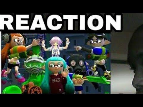 [Splatoon GMOD] Squid-nanigans [REACTION]