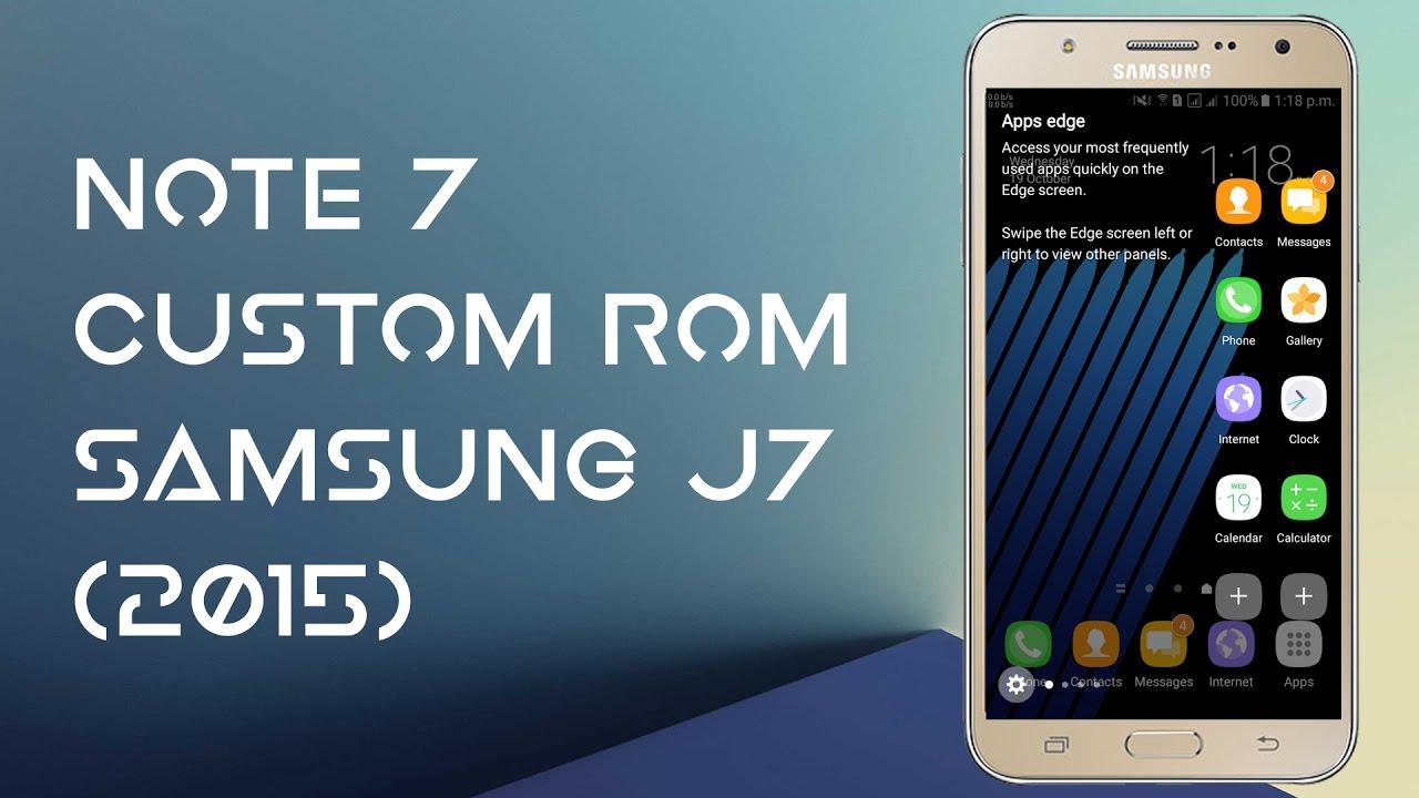 J7 Root Rom