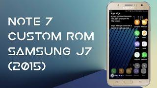 Install Note 7 v2 Custom Rom Samsung J7(5)